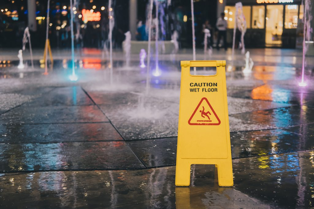 slip and fall negligence